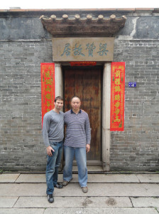 At the house of the late wing chun legend Dr Leung Jan